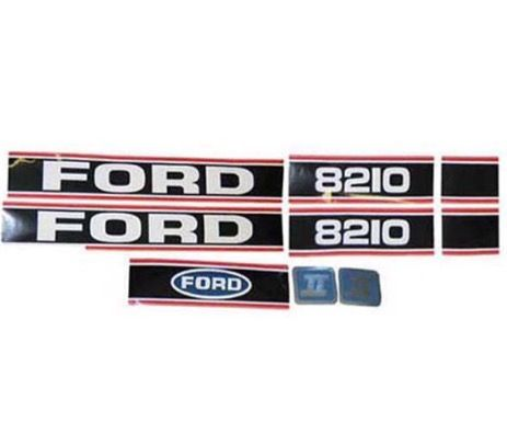 FORD 8210 FORCE 11 DECAL KIT ( RED & BLACK) PART NO: 4719