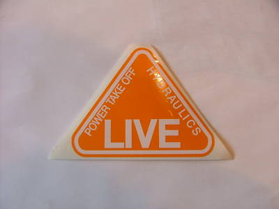 FORDSON MAJOR LIVE DECAL - NO