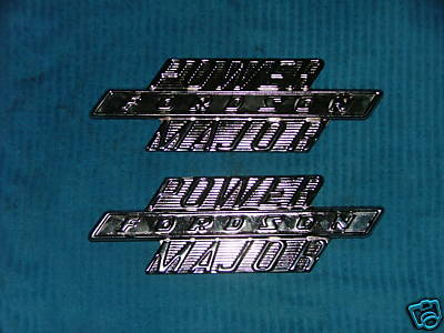 FORDSON POWER MAJOR SIDE BADGES - NO 41678