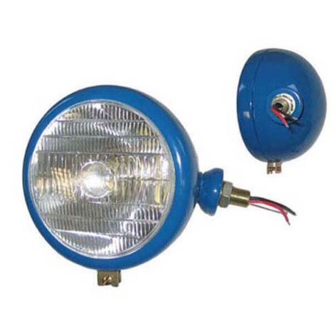 R/ H LAMP BLUE LENS WITH TRACTOR LOGO PART NO : 51503